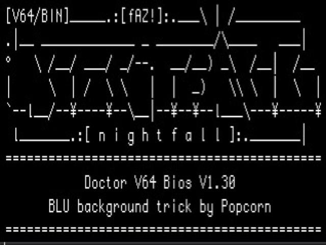 Doctor V64 (N64) Bios Hack by Popcorn   nIGHTFALL Blog