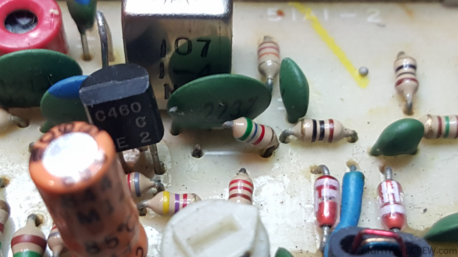 artbbs model vid ls jpg 4 Cut the resistor