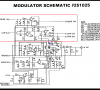Commodore 64 Modulator Schematic