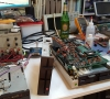 Floppy Drives (SFD-1001 & CBM 8296D). Replacing bad capacitors