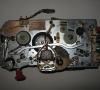 Tape recorder Geloso G.256 inside