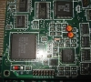 Harddisk MFM adapter for Amiga 500 (card close-up)