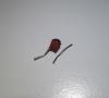 Tantalum capacitor exploded