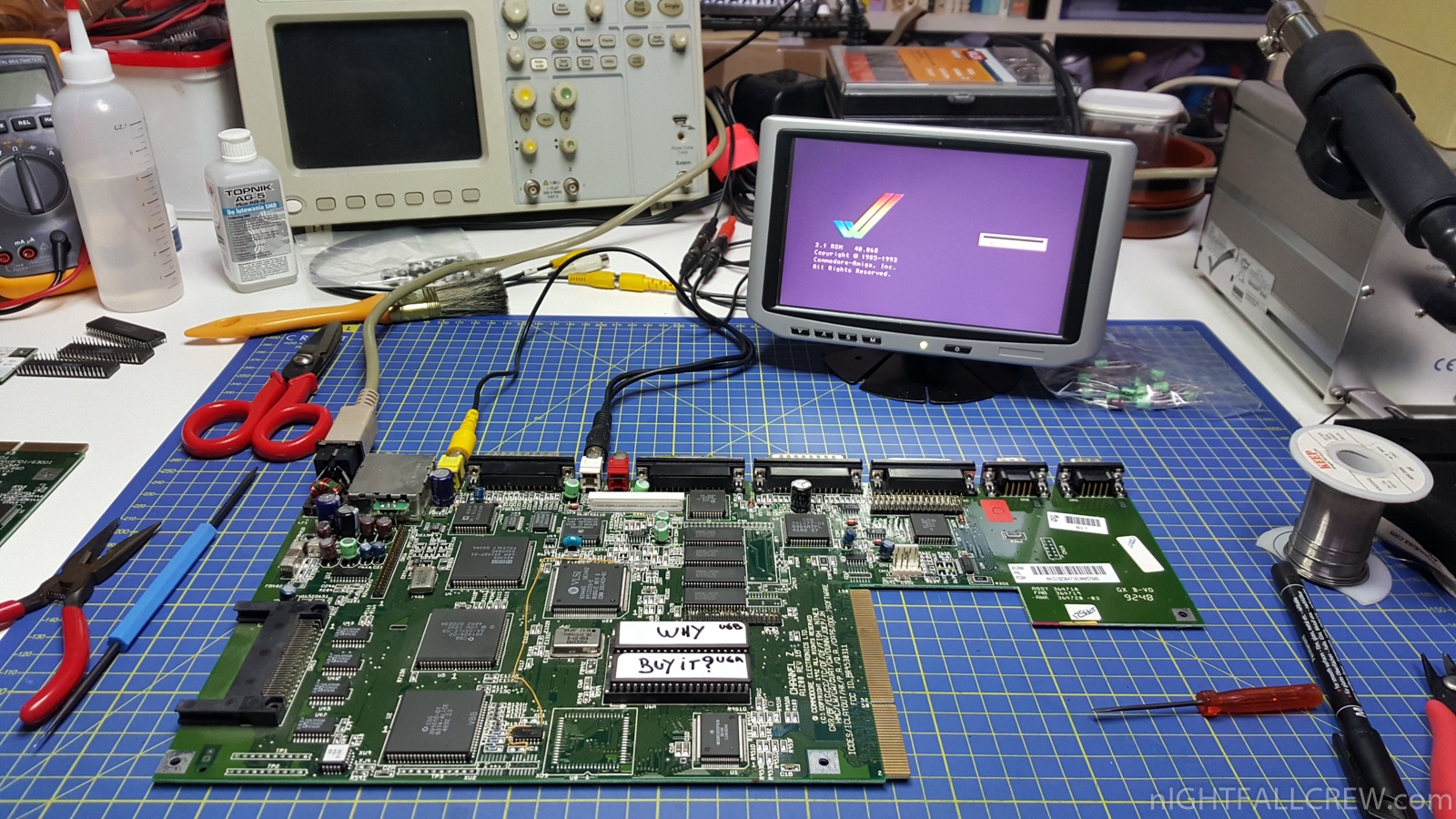 Amiga Kickstart 3 1 Burning Eprom AM 27C400 (120ns) | nIGHTFALL Blog