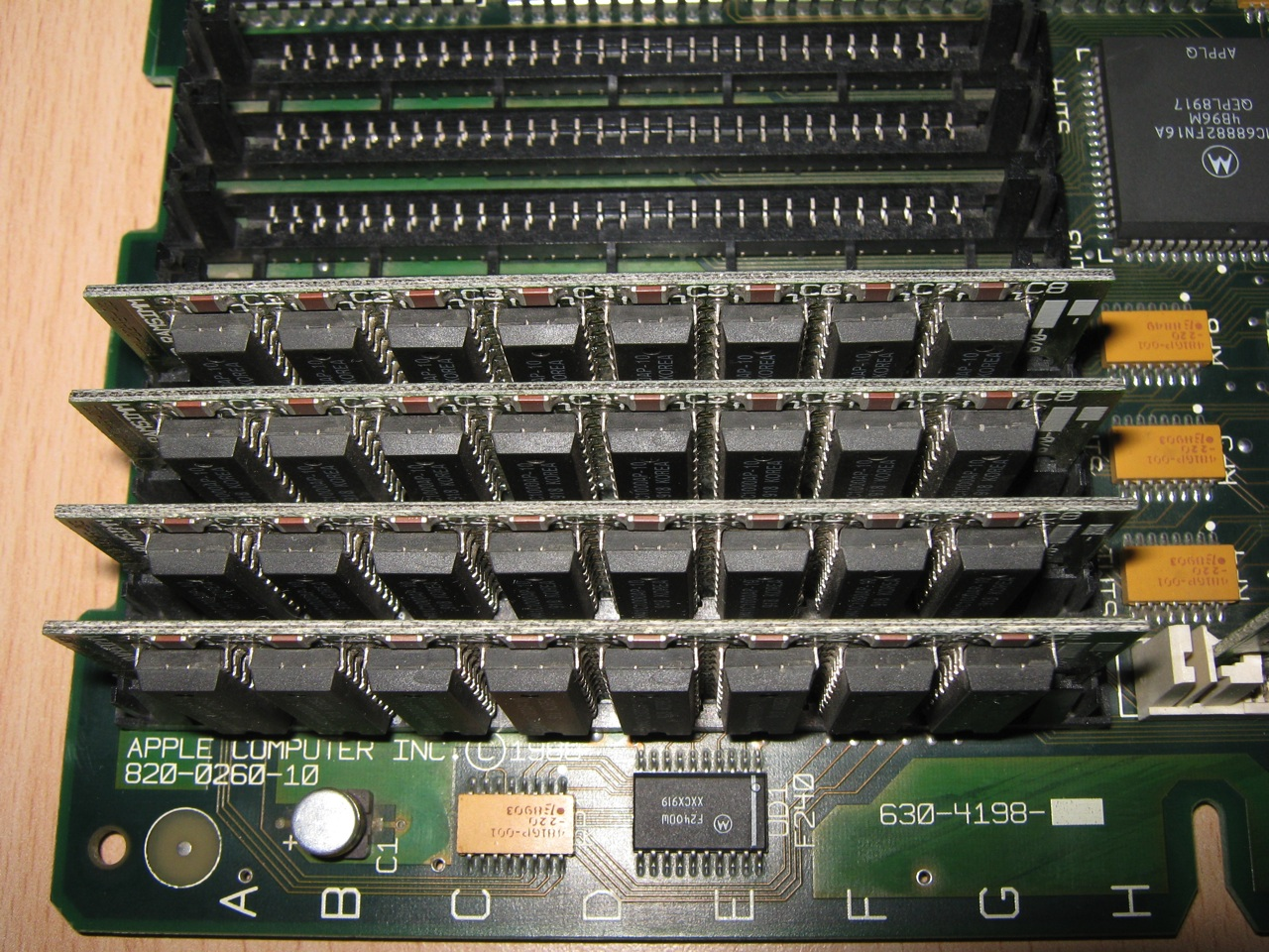 Macintosh SE/30 Fixing Motherboard Faults | nIGHTFALL Blog