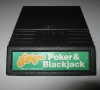 Mattel Intellivision Poker & Black Jack Cartridge