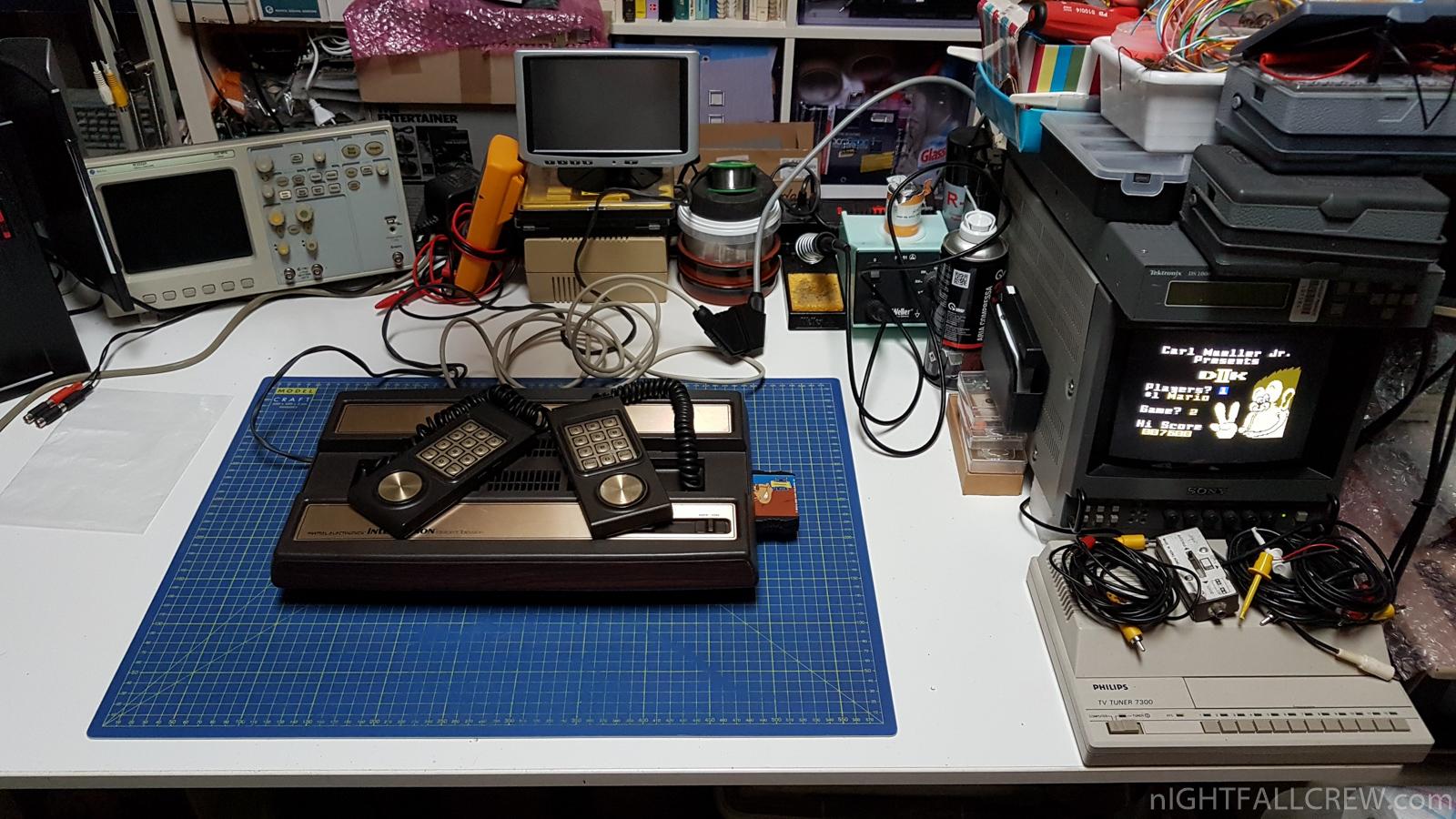 Radio Shack modulatore RF collegamento