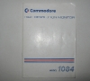 Monitor Commodore 1084 Manual