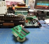 Mounting 5 x FlashROM 99 (TI-99/4A FlashROM Cartridge)