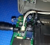 NEC PC-Engine LT (close-up capacitor leaking)