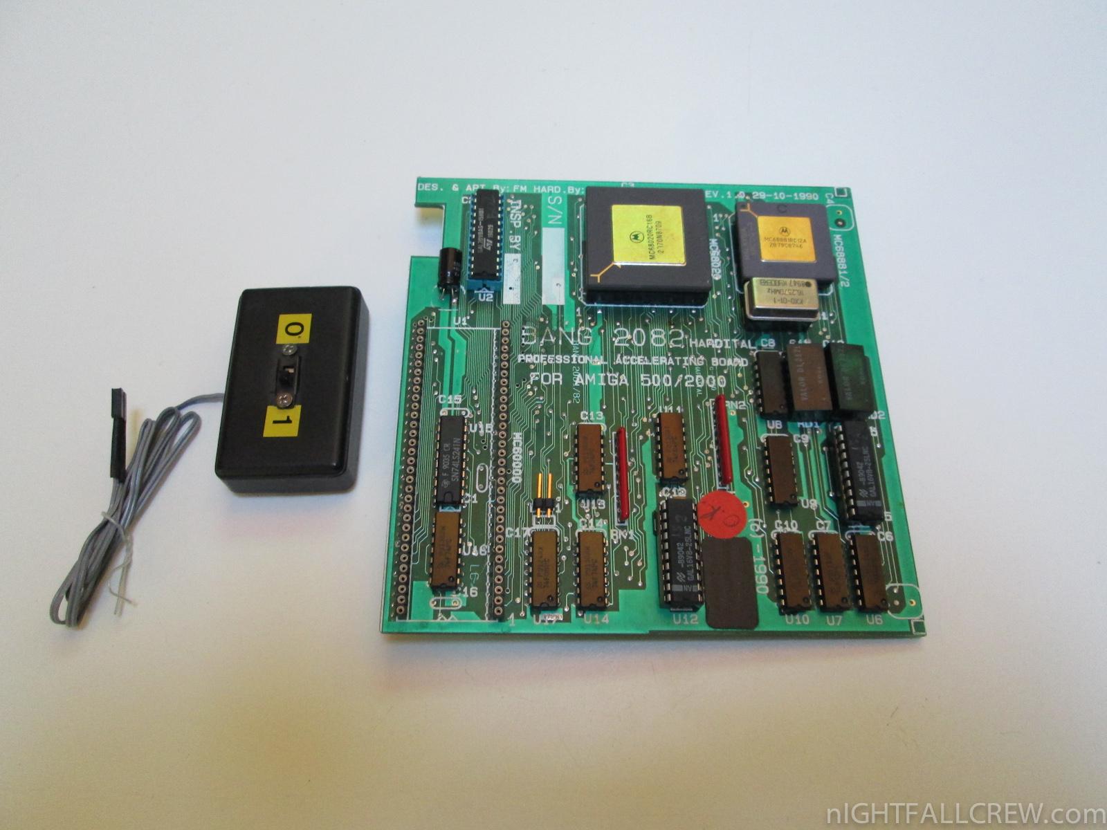 New Donation Hardital Bang 2082 And Logica Kick Mouse Nightfall Circuit Board Img 8631