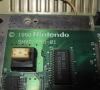 Nintendo Super Famicom (main pcb close-up)
