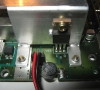 Nintendo Super Nes (motherboard close-up)