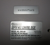 Nintendo Super Nes (bottom side close-up)