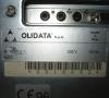 Olidata 915 (rear side close-up)