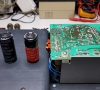 Osborne 1 Replaced Capacitors (PSU)
