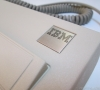 IBM Logo Close-up