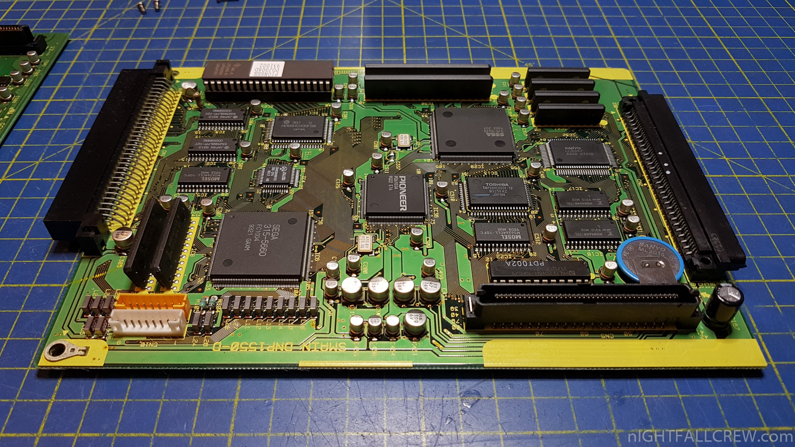 Pioneer LaserActive CLD-A100 – Repair & Modules full Recap