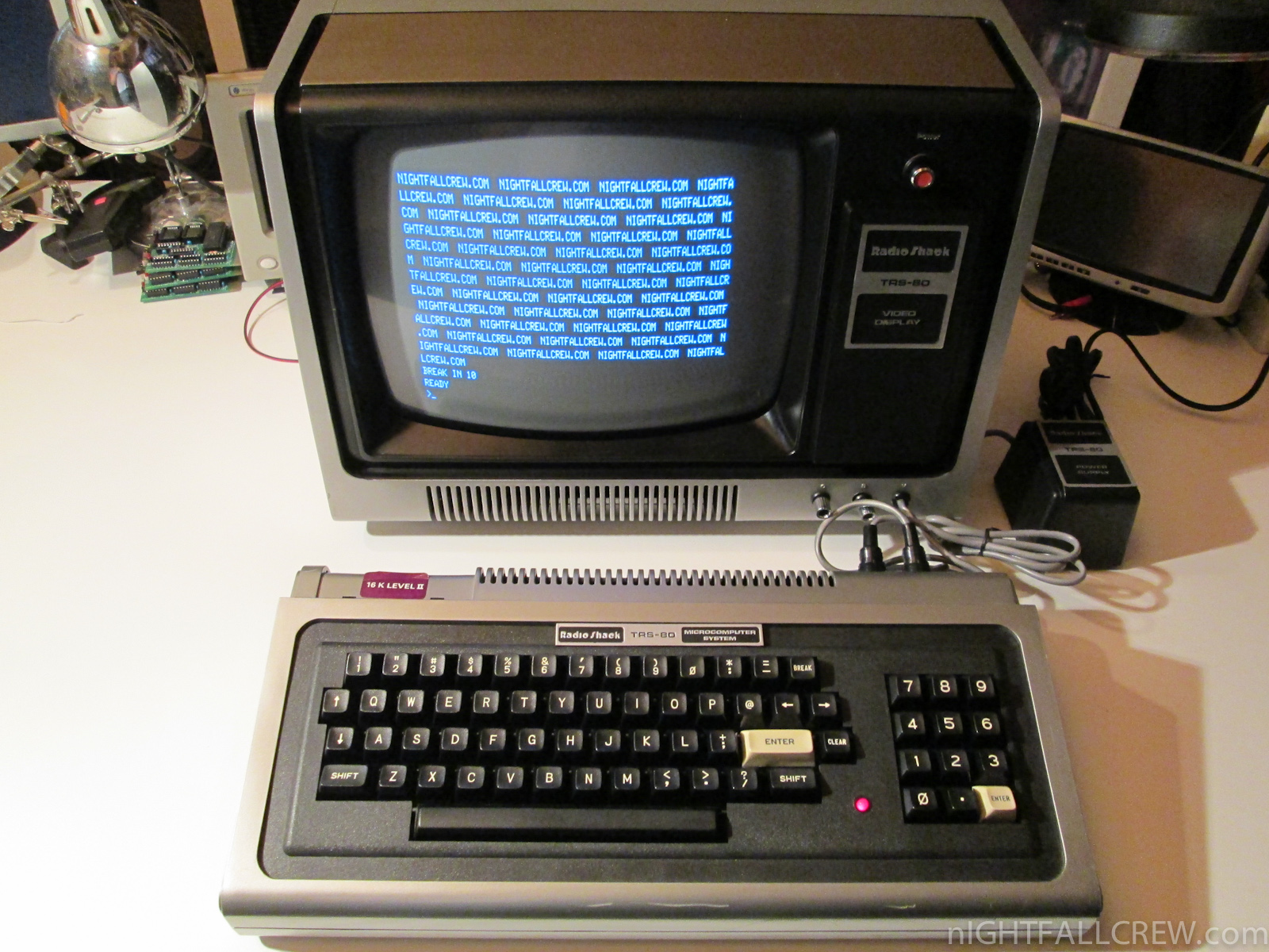 Radio Shack Trs 80 Model 1 Video Display Nightfall