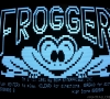 Radio Shack TRS-80 Model III (Frogger game Screenshot)