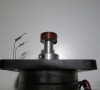 Pinch Roller with the Rubber Dissolved