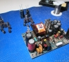 Replacing capacitors of the original power supply