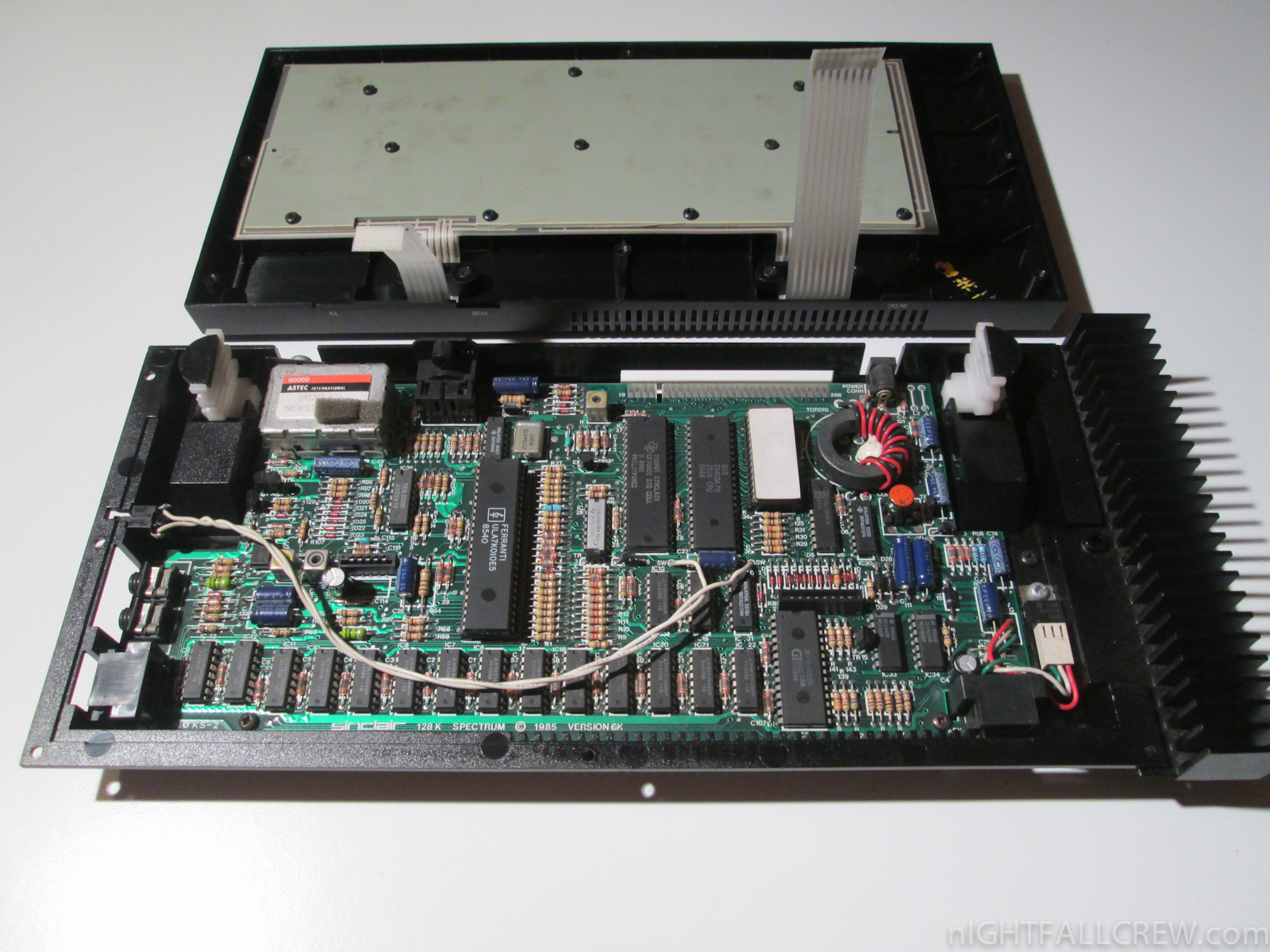Replace Sinclair Zx Spectrum 128k Heatsink Keyboard