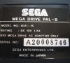 Sega Megadrive (bottom side close-up)