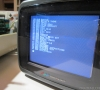 Testing with a small CRT monitor