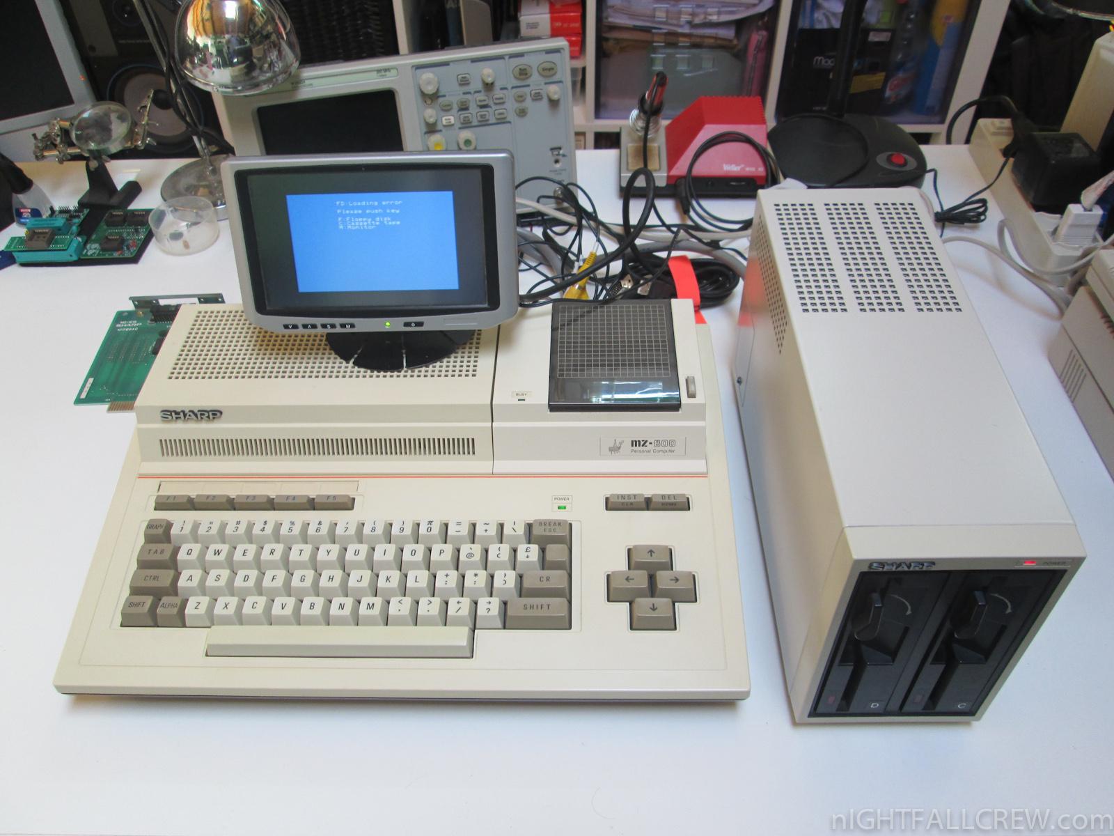 Sharp Mini Floppy Disk Drive Ce 510f Mz 1e05 Boxed