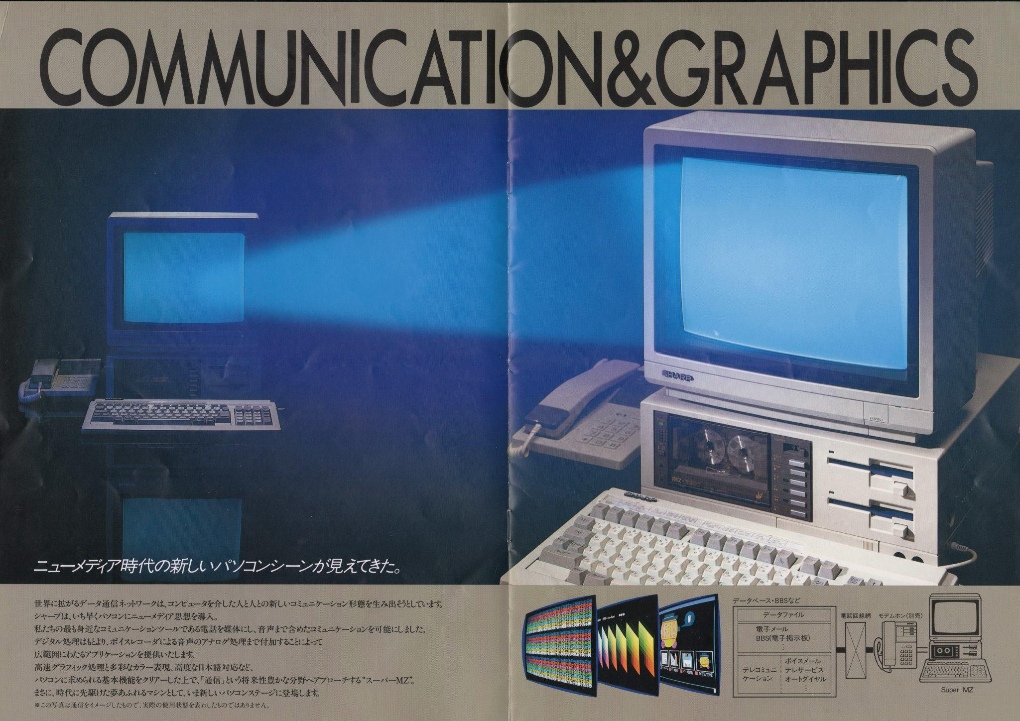 Sharp MZ-2500 (SuperMZ) | nIGHTFALL Blog / RetroComputerMania.com