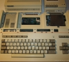 Sharp MZ-821 (under the cover)