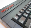 Sinclair Spectrum 128k +2A (keyboard close-up)