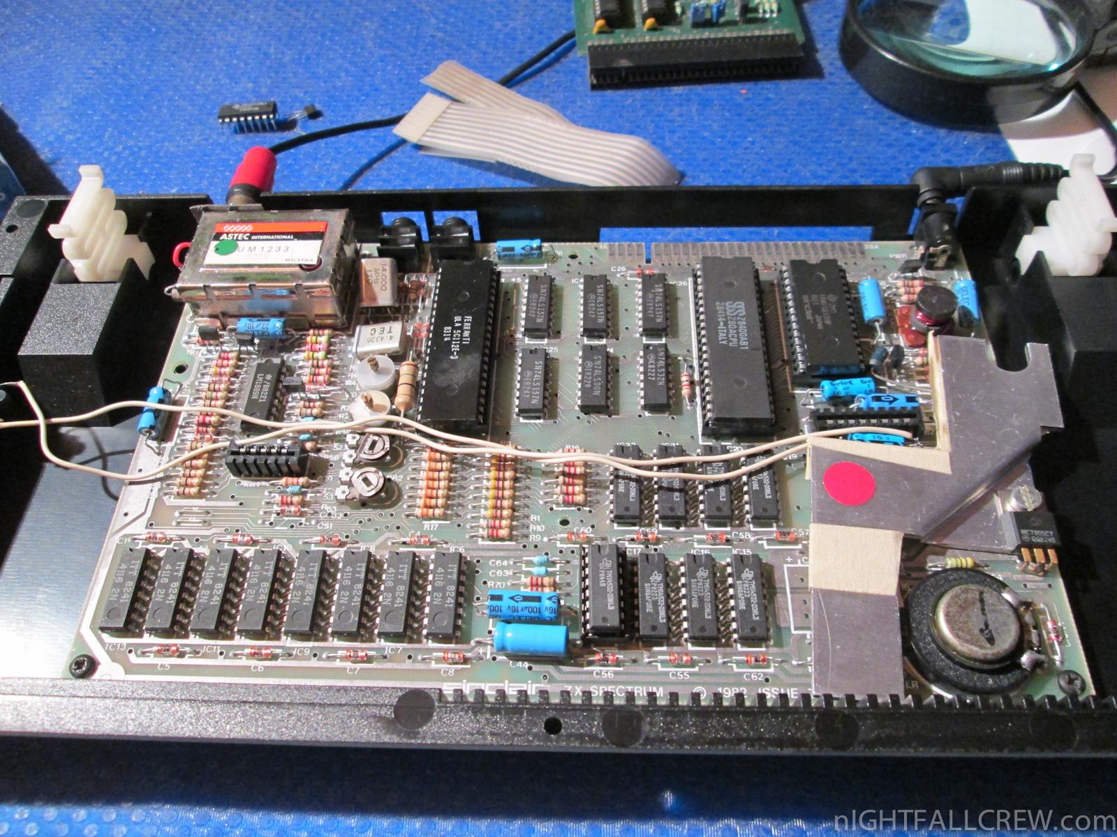 Sinclair Spectrum Break Recovering Repair Updated Nightfall The Basic Digital Computing Circuitry Used In