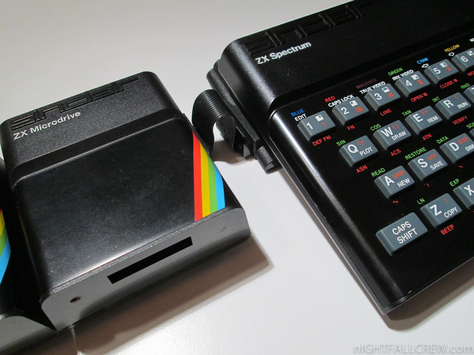 Sinclair Zx Interface 1 Zx Microdrive Nightfall Blog