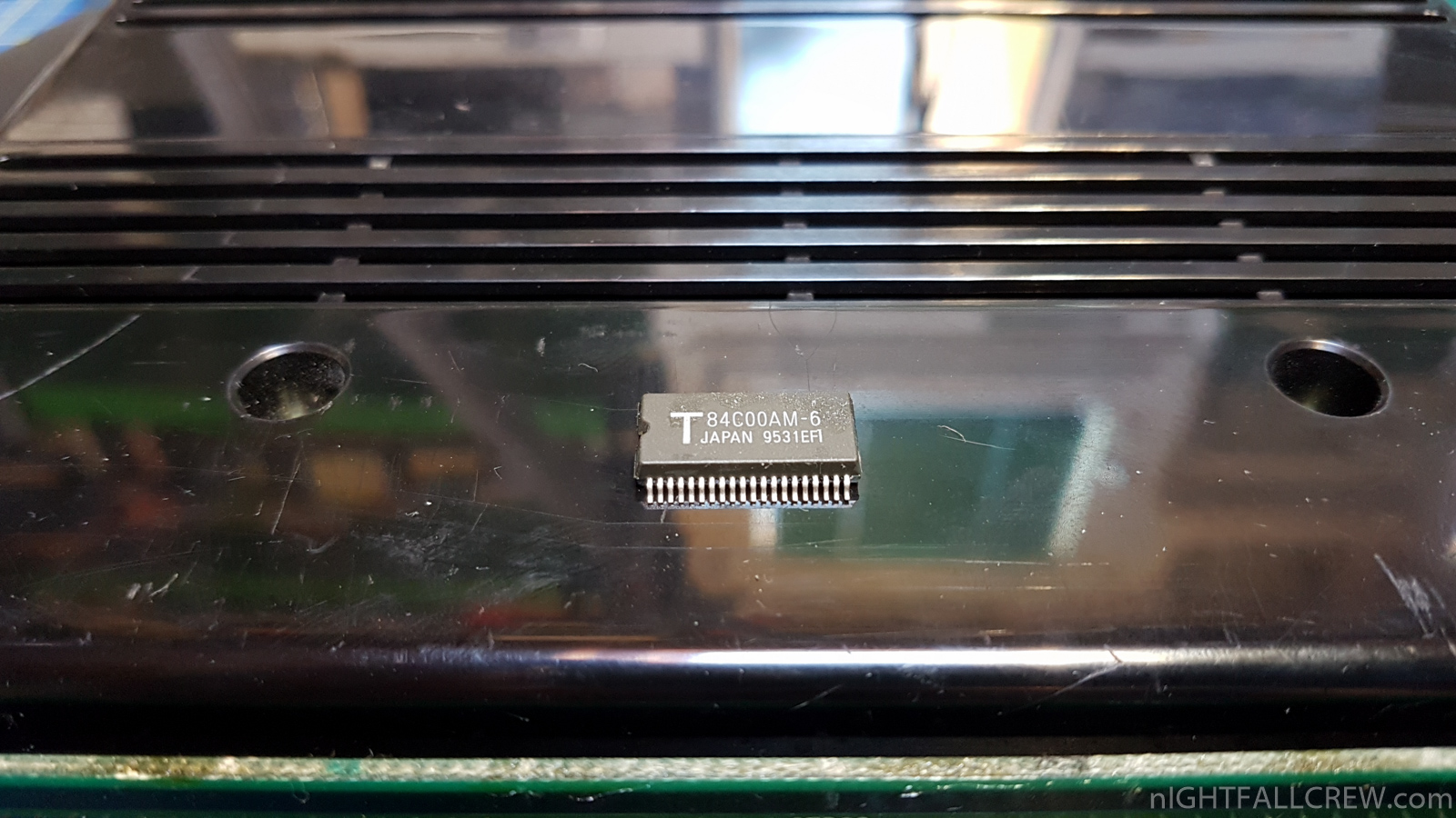 SNK Neo Geo MV1a Z80 Error Repair | nIGHTFALL Blog