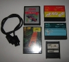 Some Cartridges ATARI 2600 - XL 800 - Pong Clone and a Unknown Cable