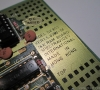 Spectravideo SV-803 16k RAM Cartridge (pcb close-up)