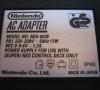 Super Nintendo (power supply close-up)