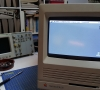 Macintosh SE/30 with a Classic CRT Tube