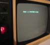 Tandy Radio Shack TRS-80 Model 4p (system booting)