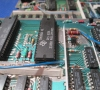 Motherboard close-up