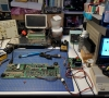 Texas Instruments TI-99/4A Repair (Wave/Raster Lines)