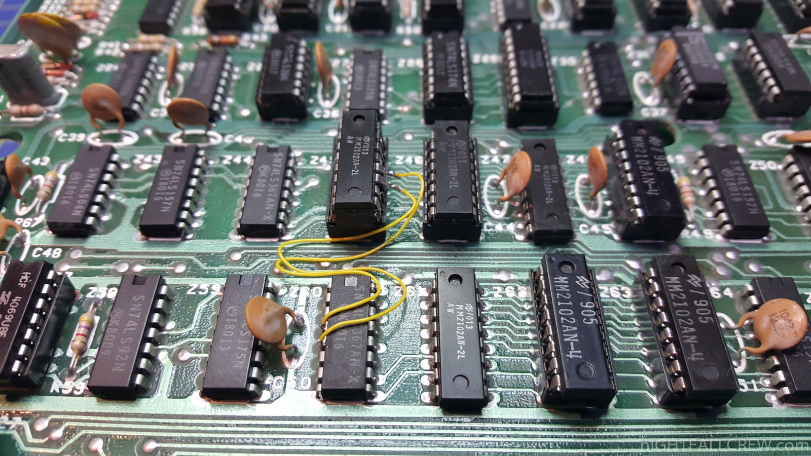 artbbs model vid !^! TRS-80 Model 1 L2 - Lowercase characters Hardware mod
