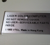 Vtech Laser 128 Personal Computer (bottom side - close-up)