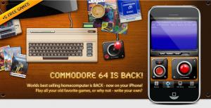 commodore 64 emulator iphone app