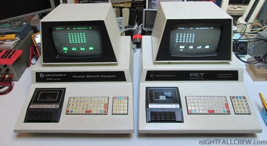 Commodore PET 2001-8C (Chiclet): Brothers of the same father ...