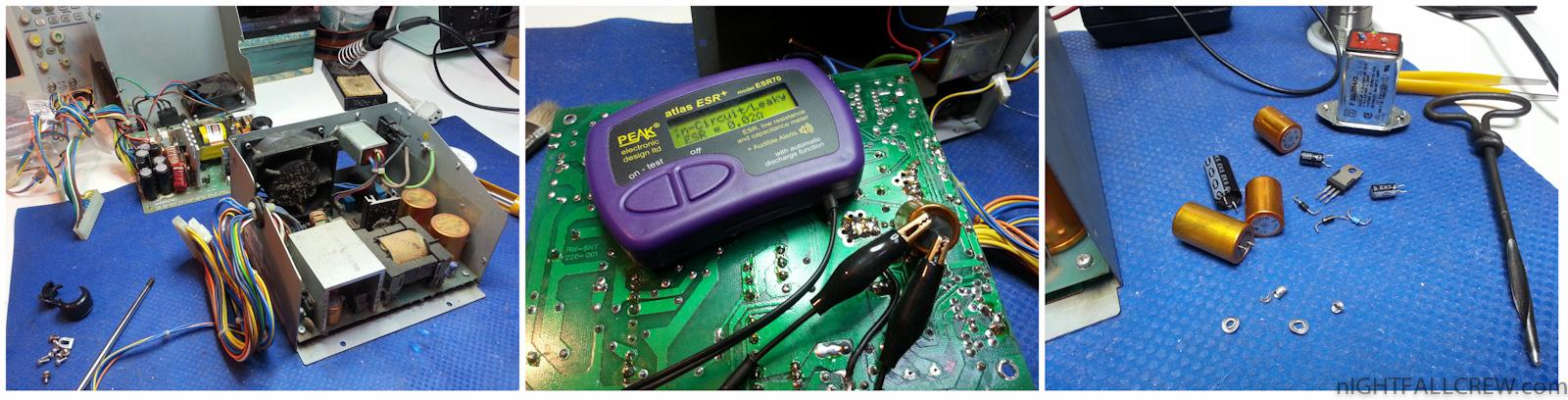 Commodore Amiga 2000 Power Supply repair | nIGHTFALL Blog ...