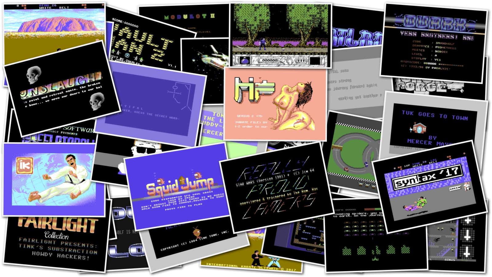 C64 Big Game Pack | nIGHTFALL Blog / RetroComputerMania com - Part 2