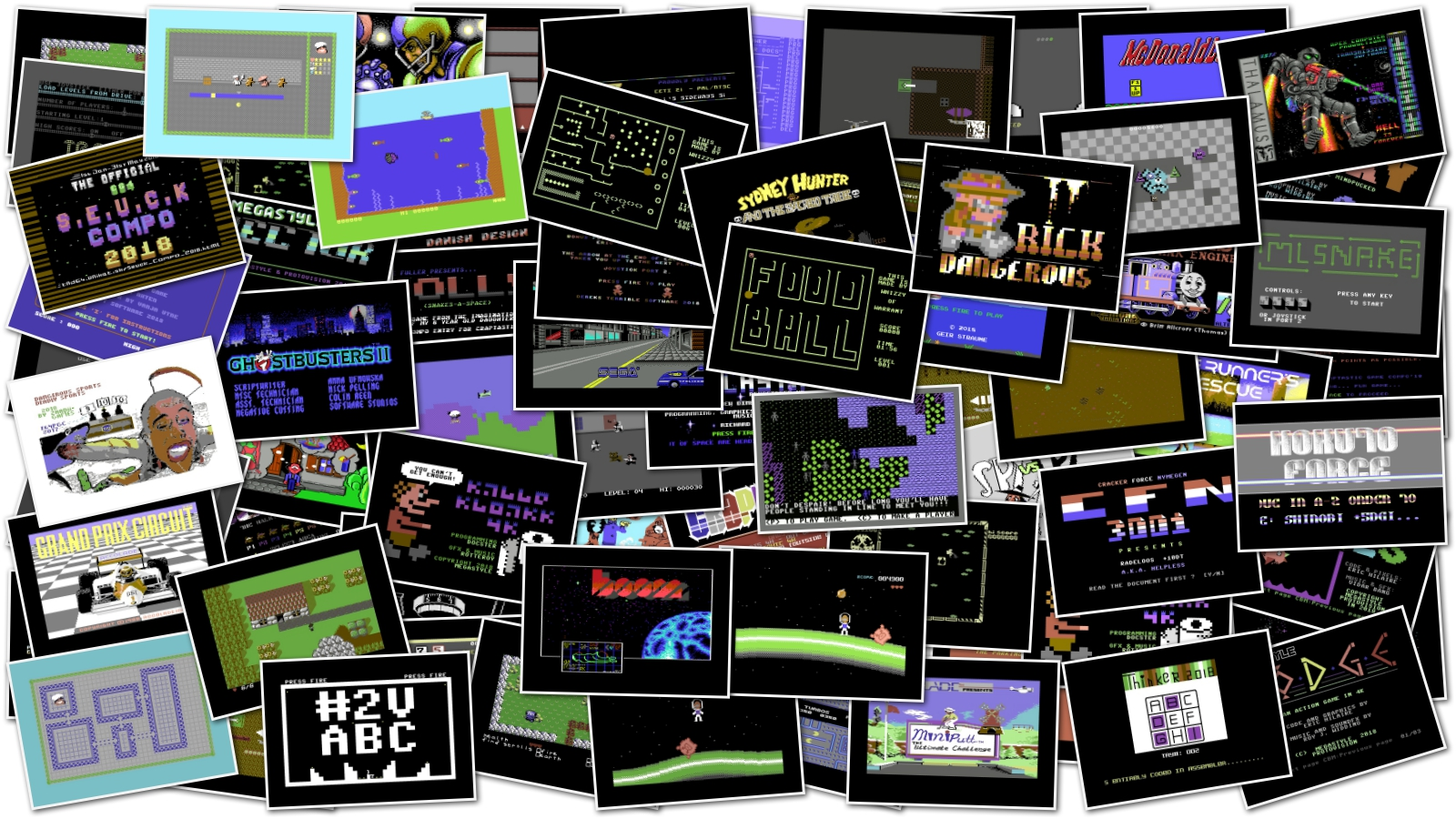 C64 Big Game Pack Spy Vs Spy Trilogy Ef Yogi Bear 4dgh